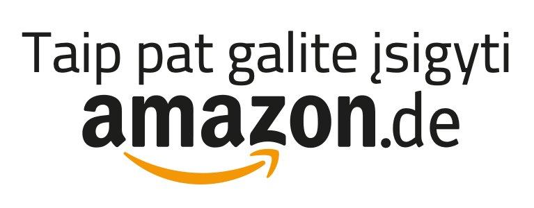Taip pat galite įsigyti Amazon.de