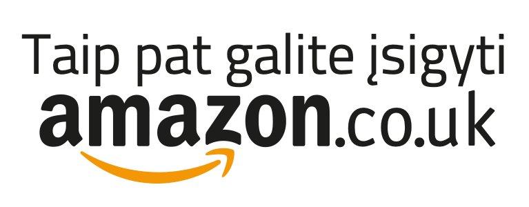 Taip pat galite įsigyti Amazon.co.uk